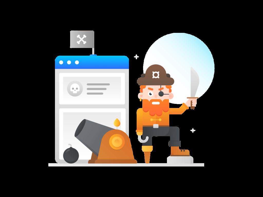 Пират для дизайна сайта
