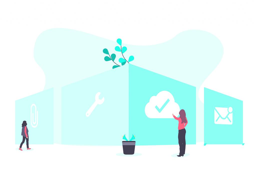 Иллюстрация для дизайна сайта