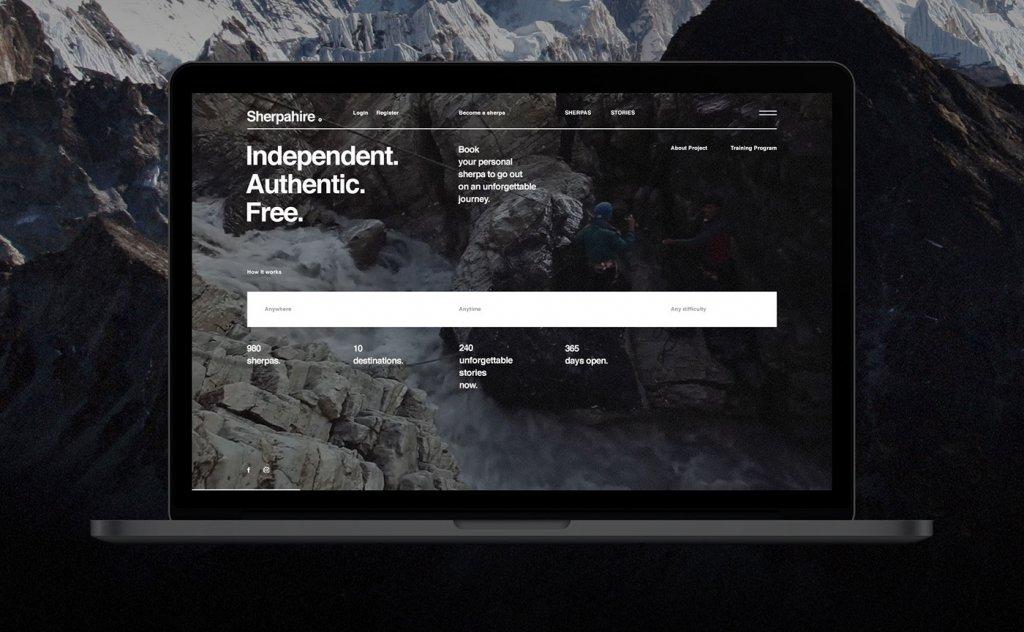 Современный дизайн сайта