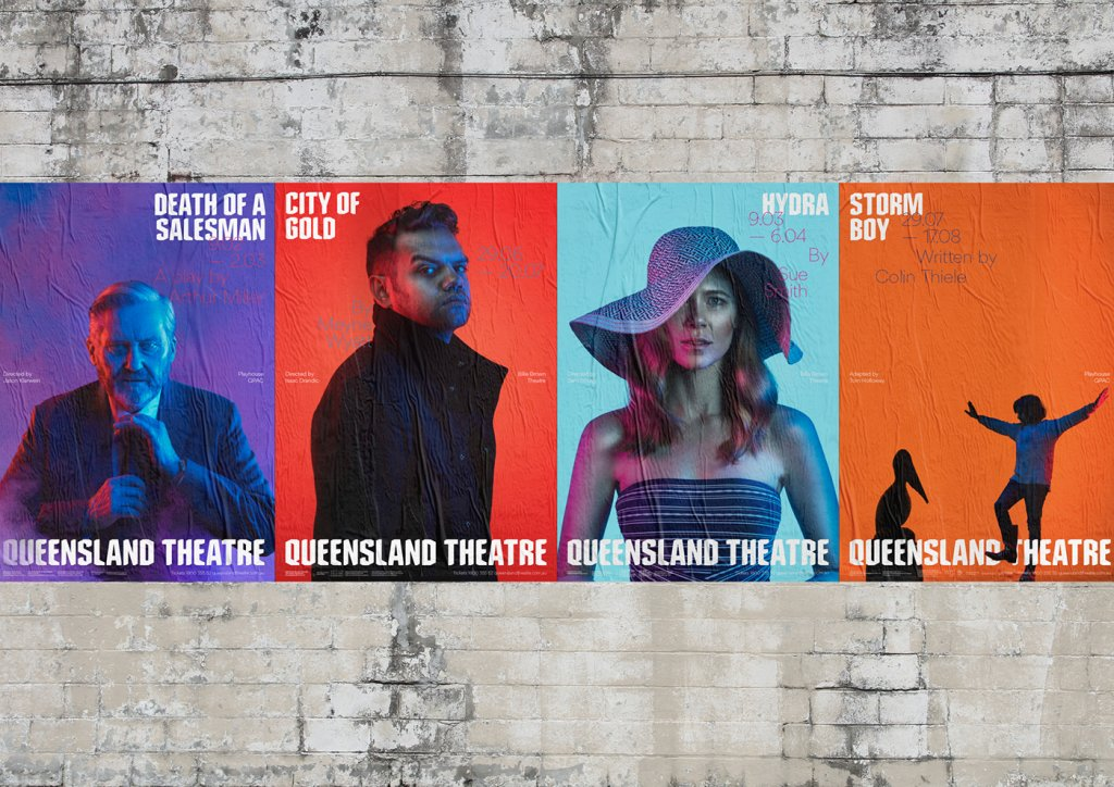 Новый брендинг Queensland Theatre