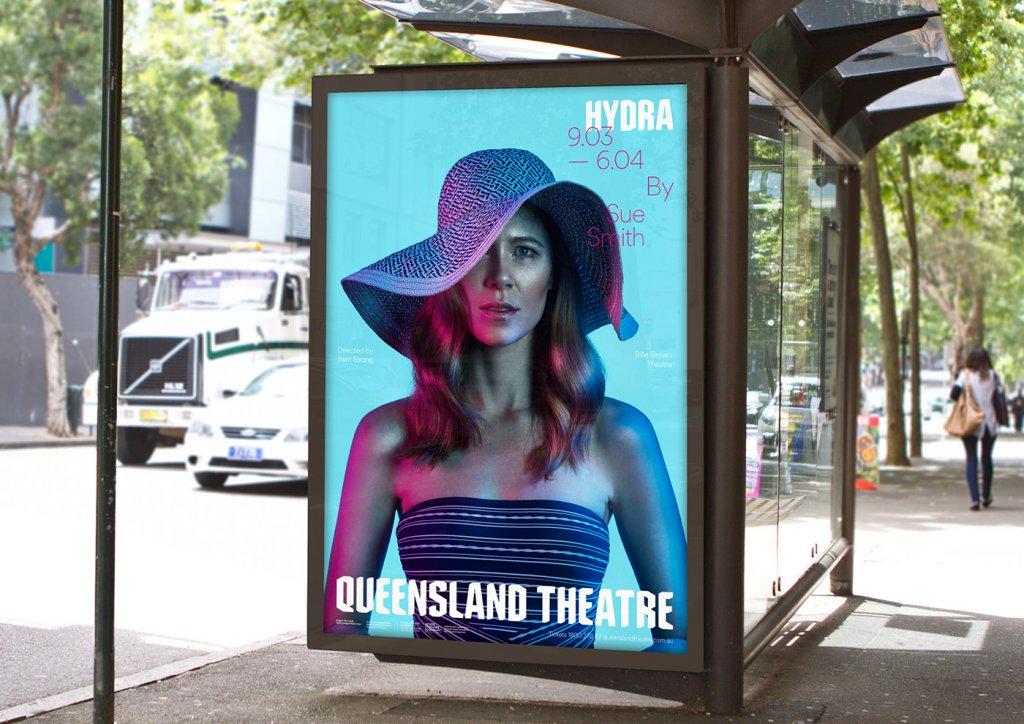 Реклама театра в Сиднее