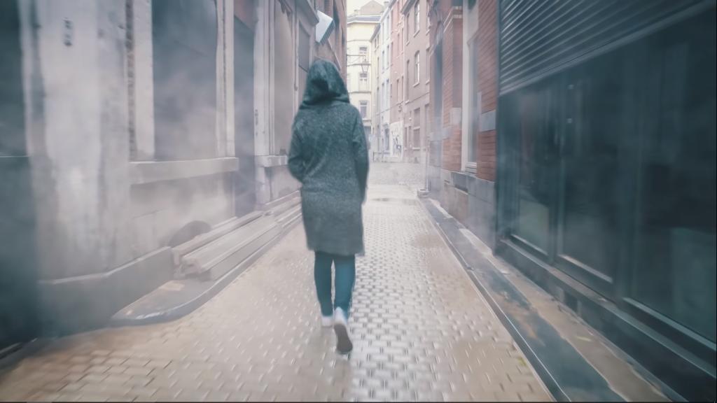 Туманный оверлей на видео