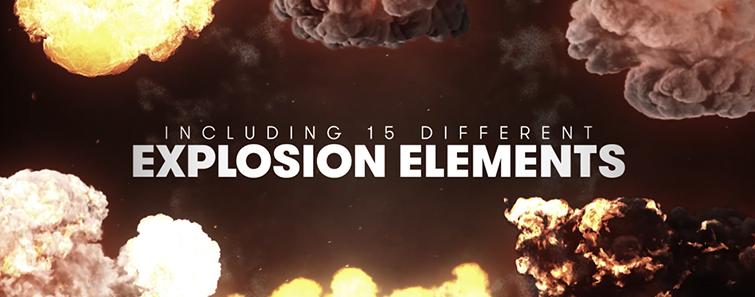 15 взрывных эффектов для видео