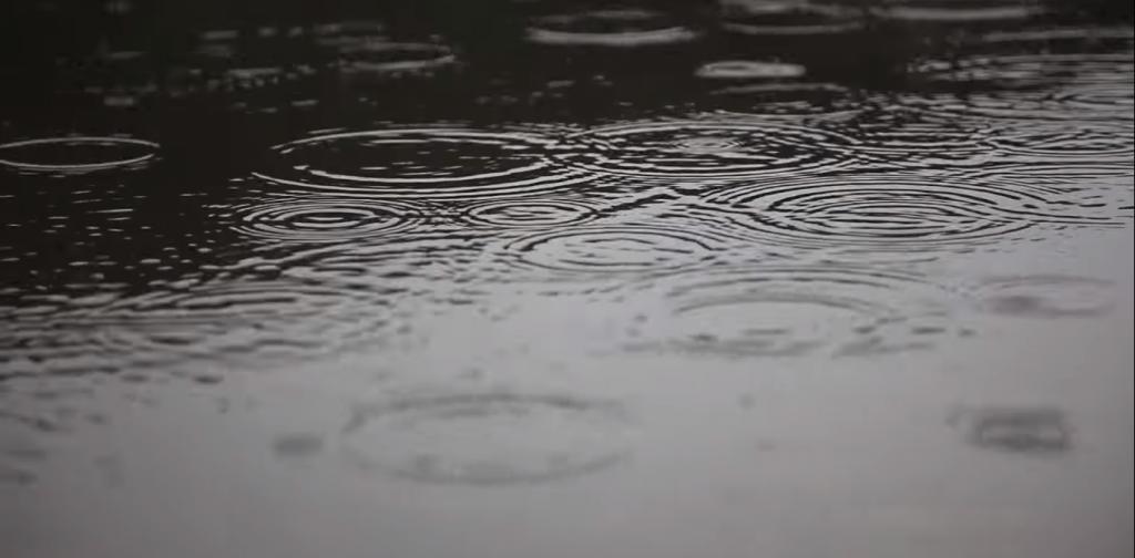 Звук капель дождя