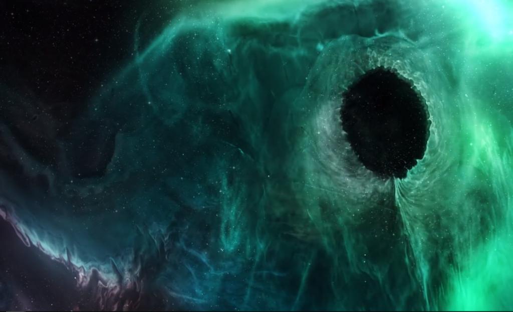 Спецэффект черная дыра