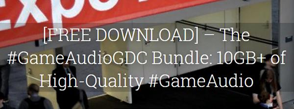 Пак звуковых эффектов с The Sonniss GDC Bundle 2015