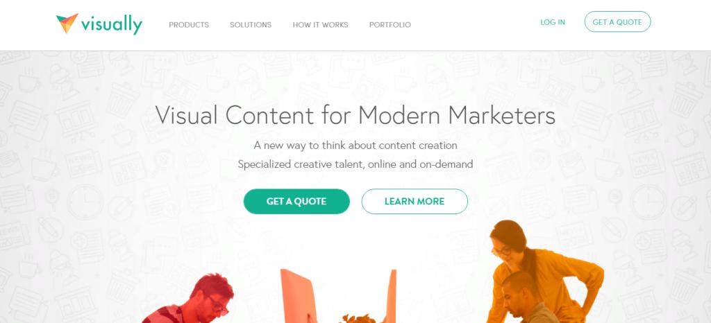 Команды создателей инфографики в Visual.ly