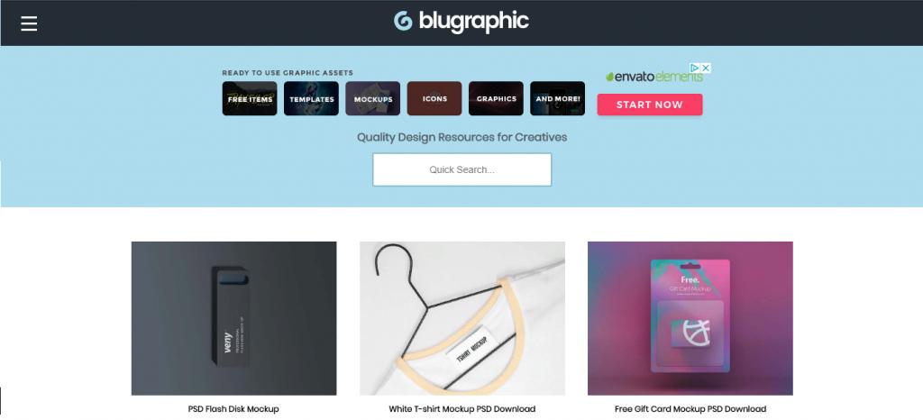 Blugraphic - инструменты и шаблоны инфографики
