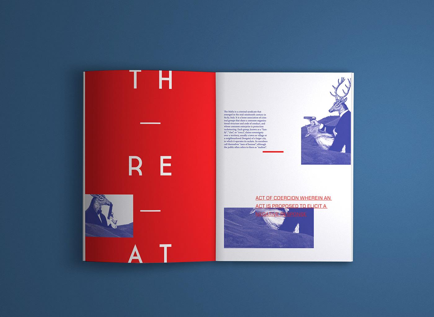 Графический дизайн публикаций Animalia от Marisa Passos пример 3