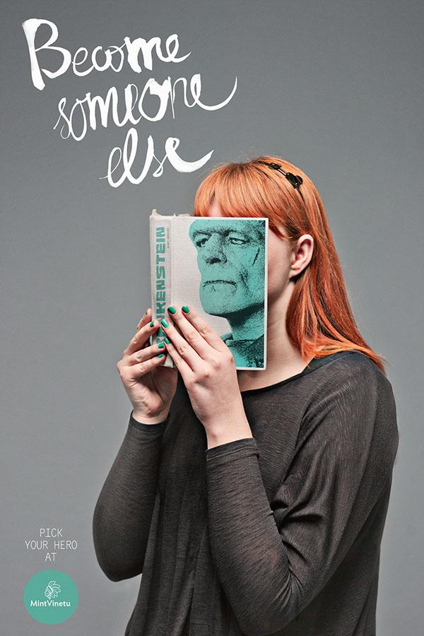 Mint Vinetu Bookstore: Become Someone Else от Gediminas Saulis