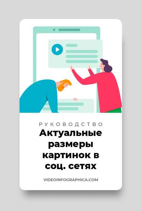 Актуальные размеры изображений для социальных сетей: Вконтакте, Инстаграм, Фейсбук, Ютуб и другие