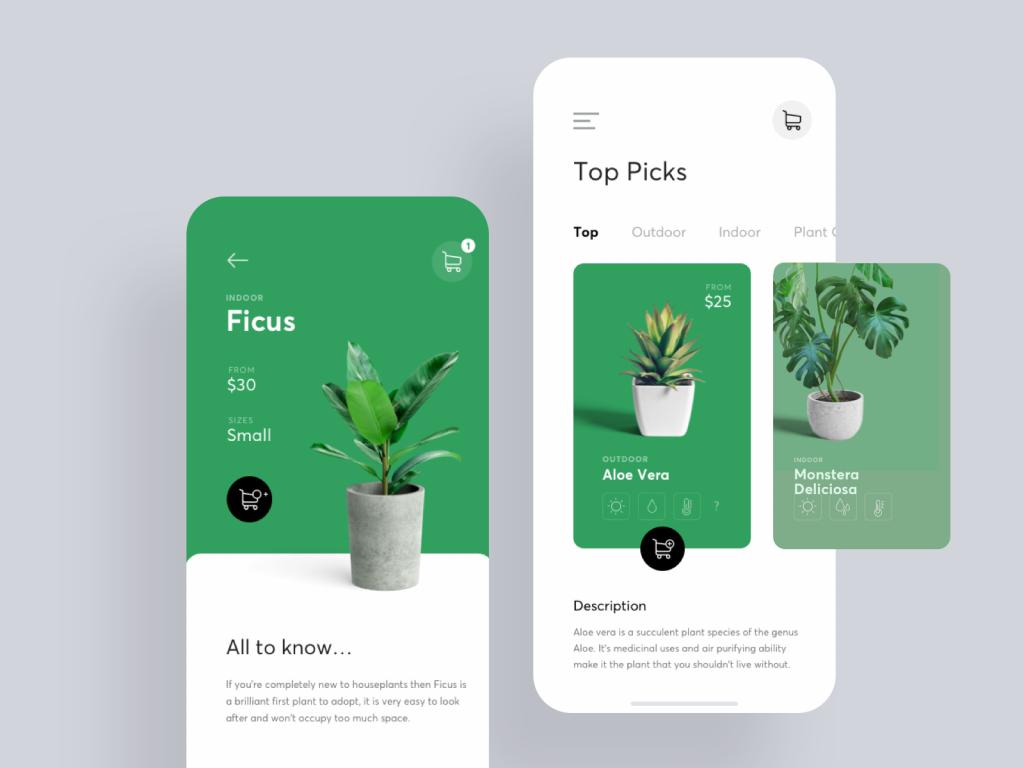 Plant Shop от Julia Jakubiak