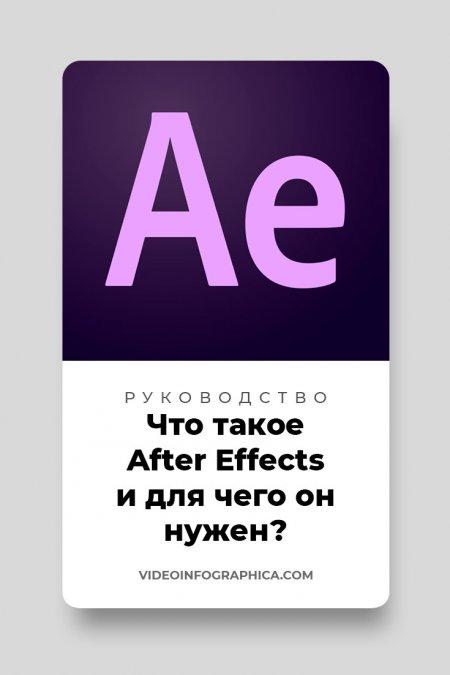 Что такое After Effects и для чего он нужен?