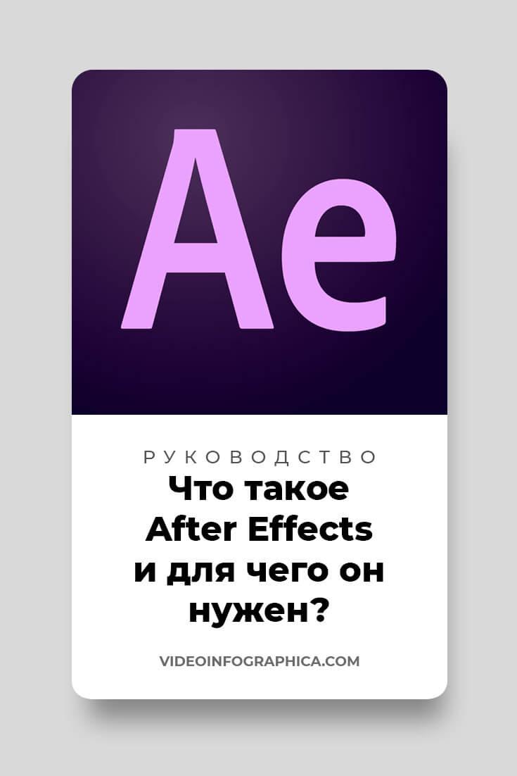Что такое After Effects и для чего он нужен