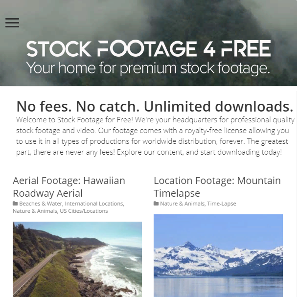 Stock Footage 4 Free