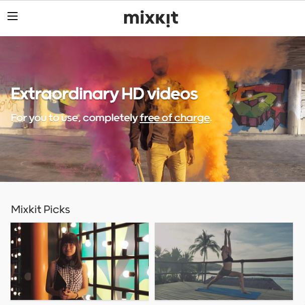 Стоковые видео на Mixkit