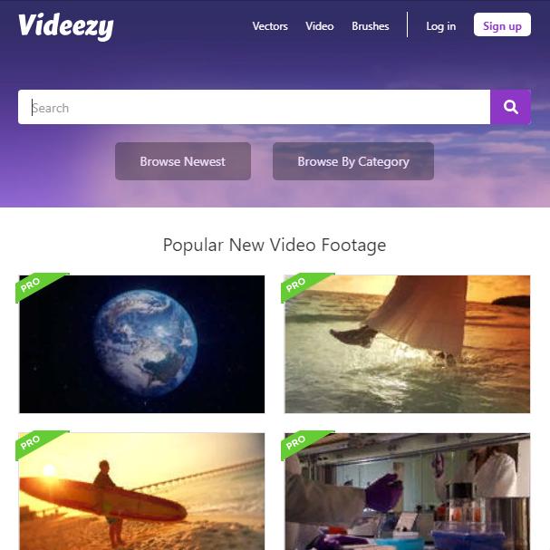 Бесплатный сток Videezy