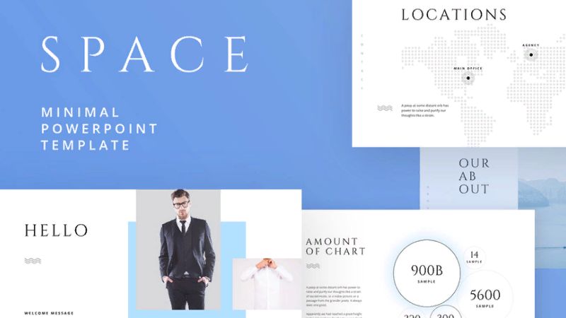 business template Space