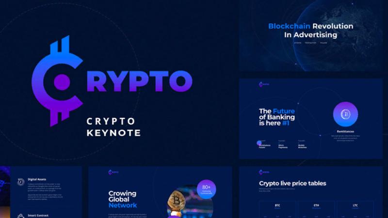 Бесплатный шаблон Crypto