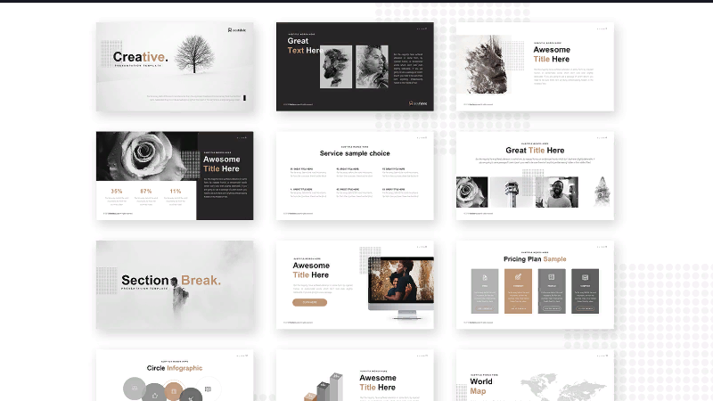 Universal PowerPoint template