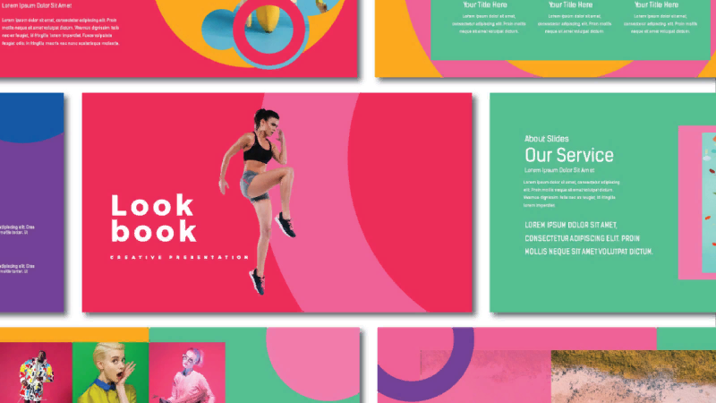 Template LOOKBOOK from Spesifikdesign