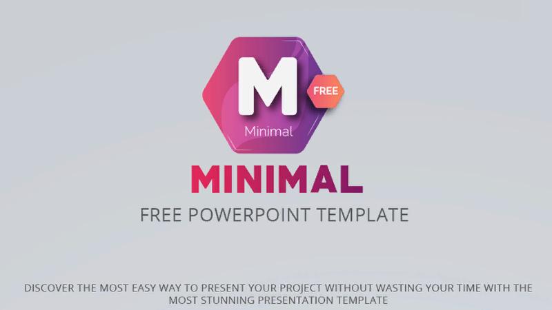 "Free ""Minimal"" template"