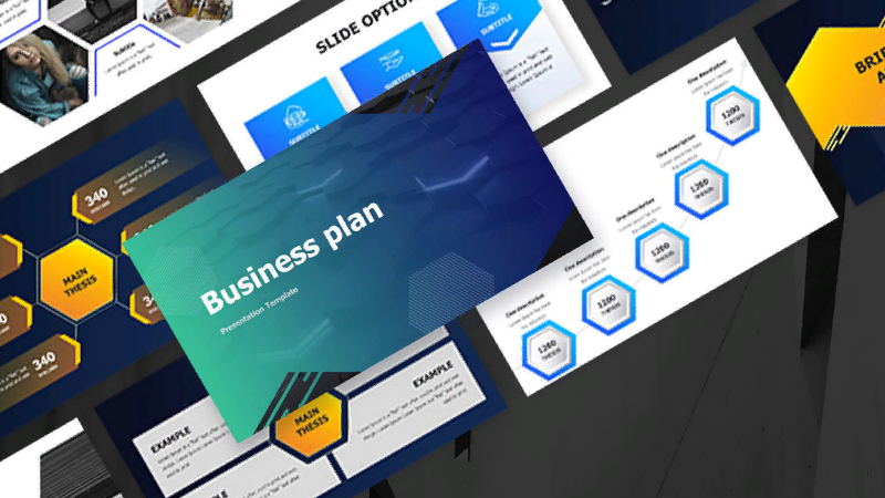 template PowerPoint Business Plan