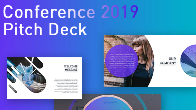 CONFERENCE 2019: Pitch Deck