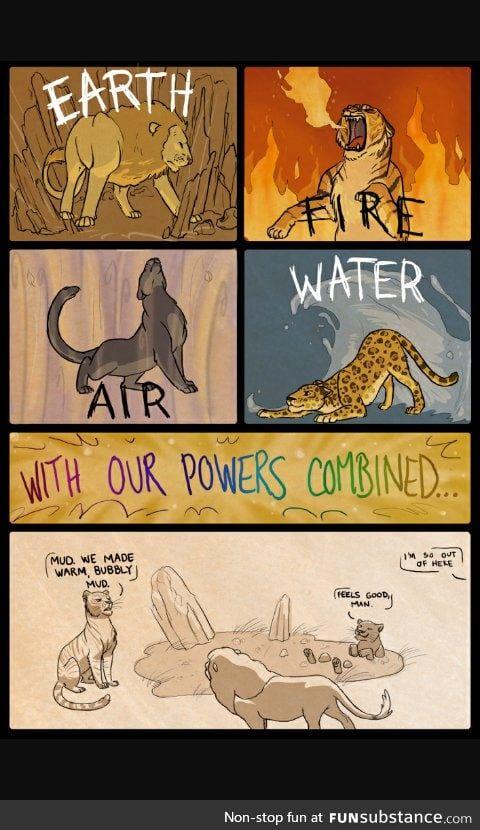 Комикс про животных
