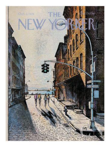 Обложка the New Yorker