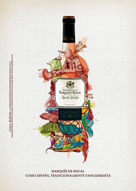 Иллюстрация вина