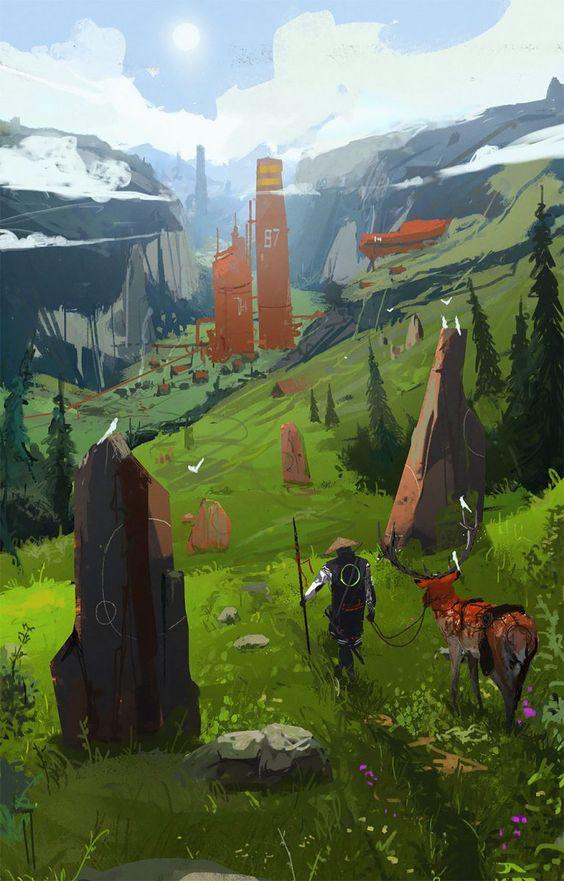 Иллюстрация из игры