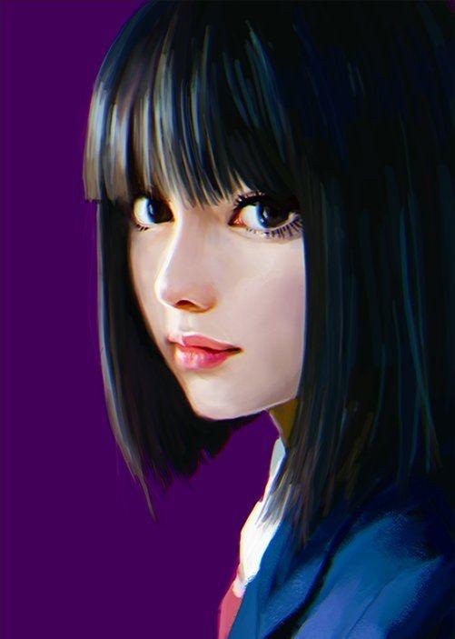 Иллюстрация на граическом планшете