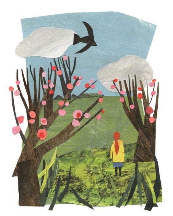 Иллюстрация коллаж