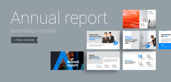 template for anual report