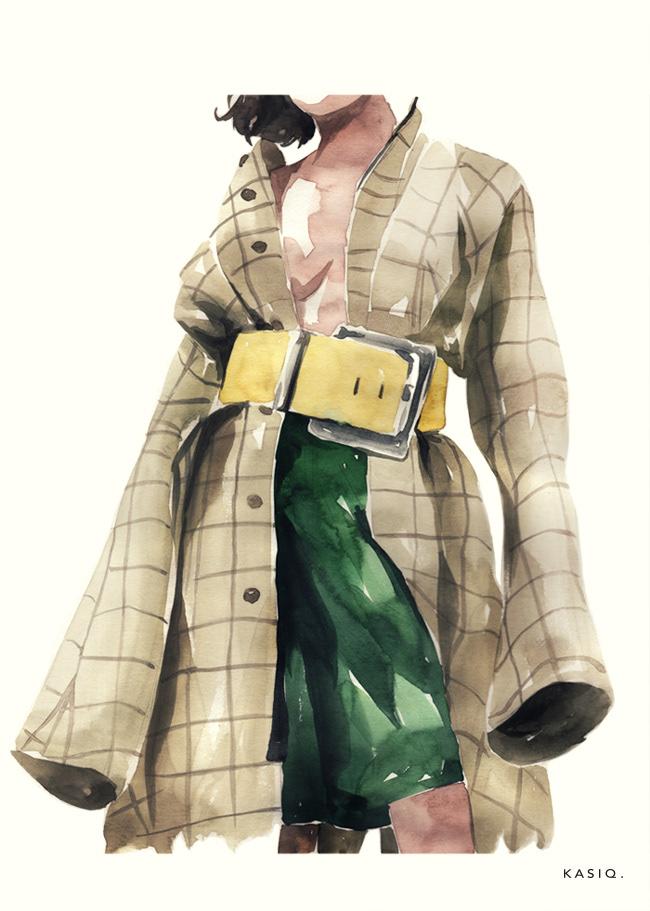 Пример fashion иллюстрации 1