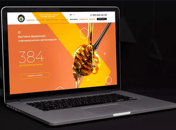 Веб-дизайн автора курса