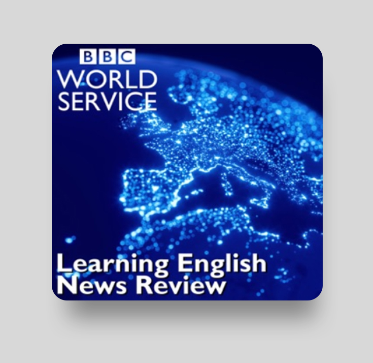 Подкаст Learning English News Review