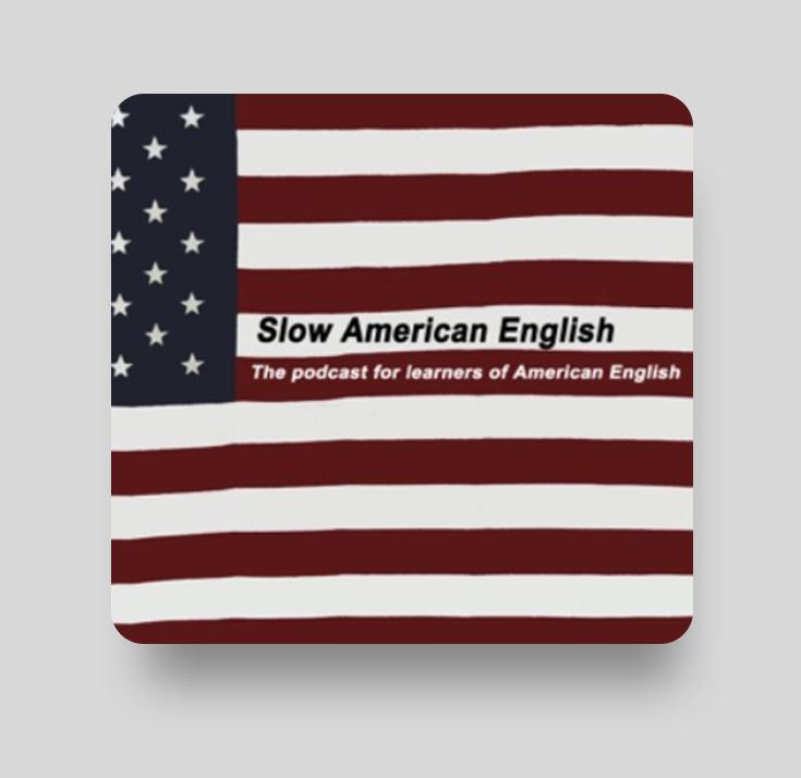 Подкаст Slow American English