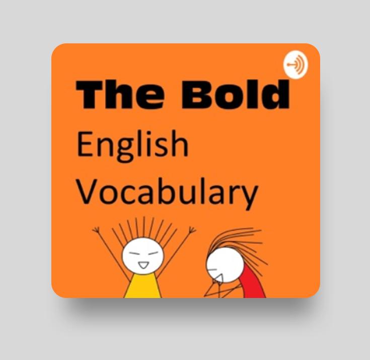 Подкаст на русском для изучения английского The Bold English Vocabulary