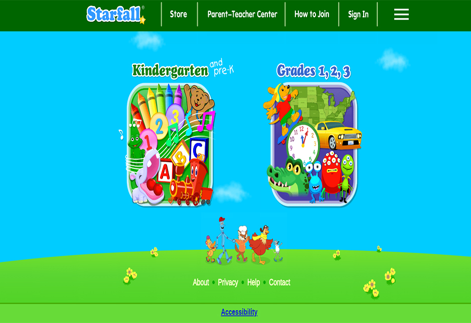 Starfall Education: Kids Games, Movies, & Books K-3