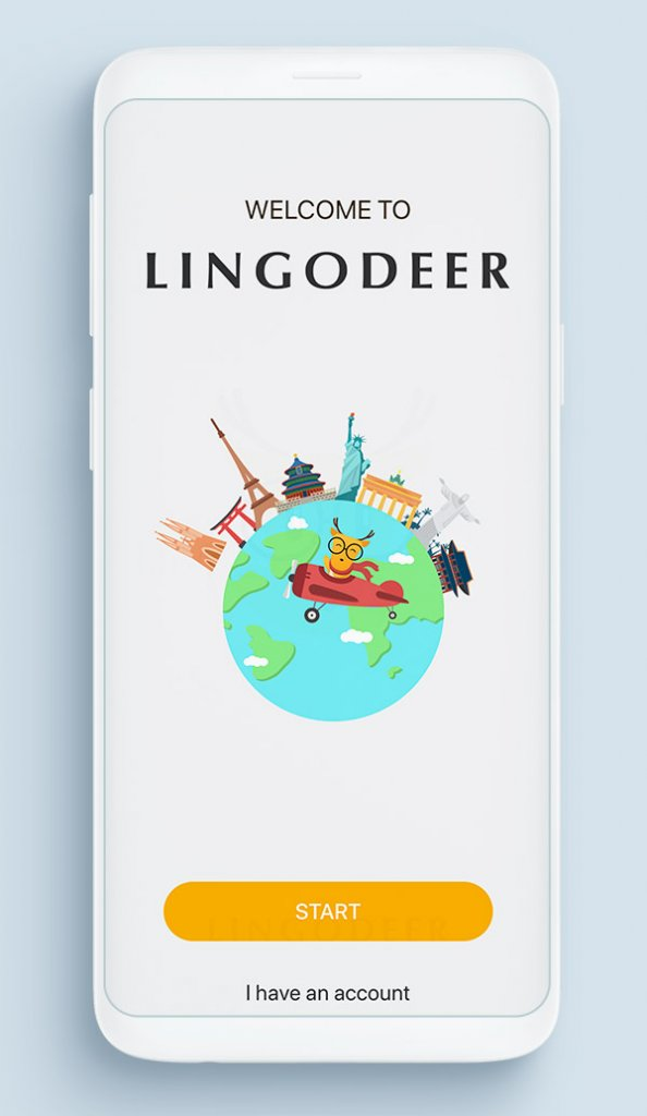Приложение для изучения английского языка — LingoDeer