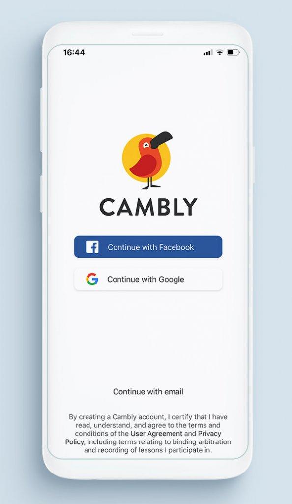 Приложение Cambly