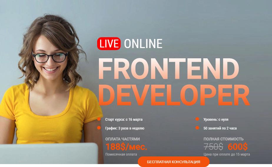 Frontend Developer курс
