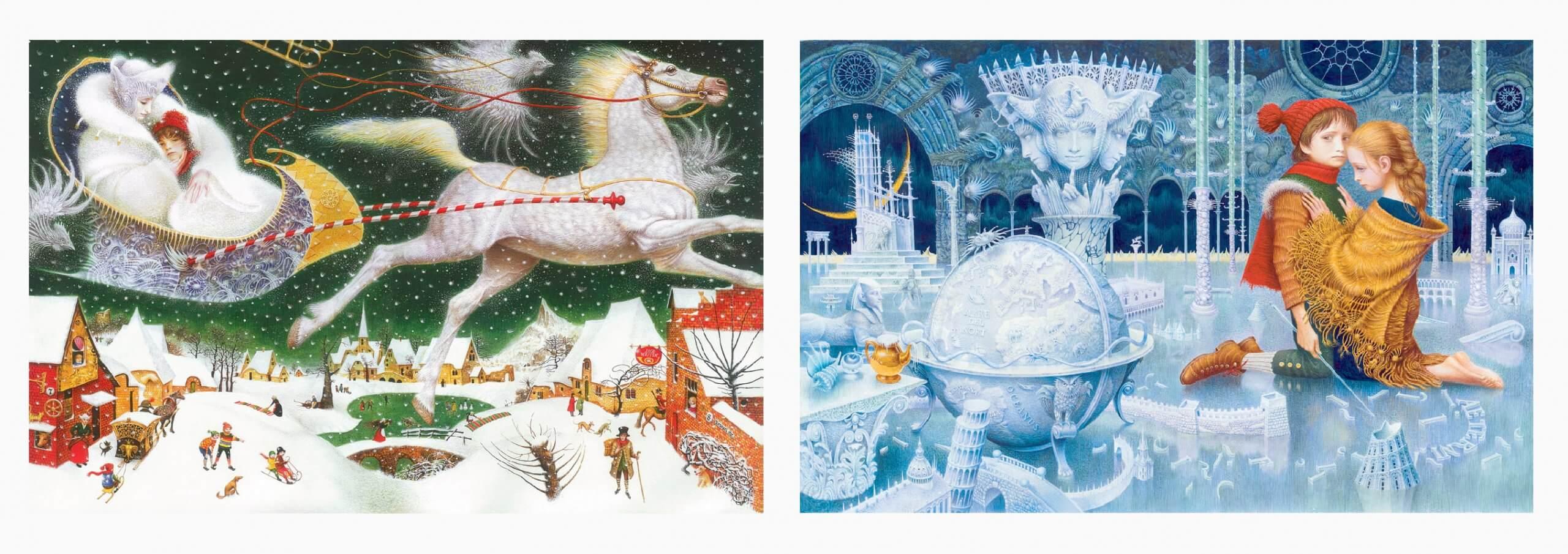 иллюстрации к сказке снежная королева - Владислав Ерко