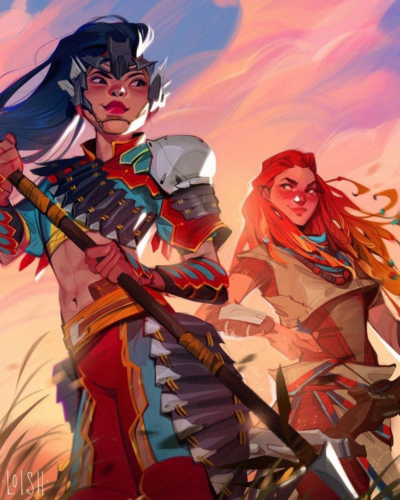 Персонажи игры Horizon
