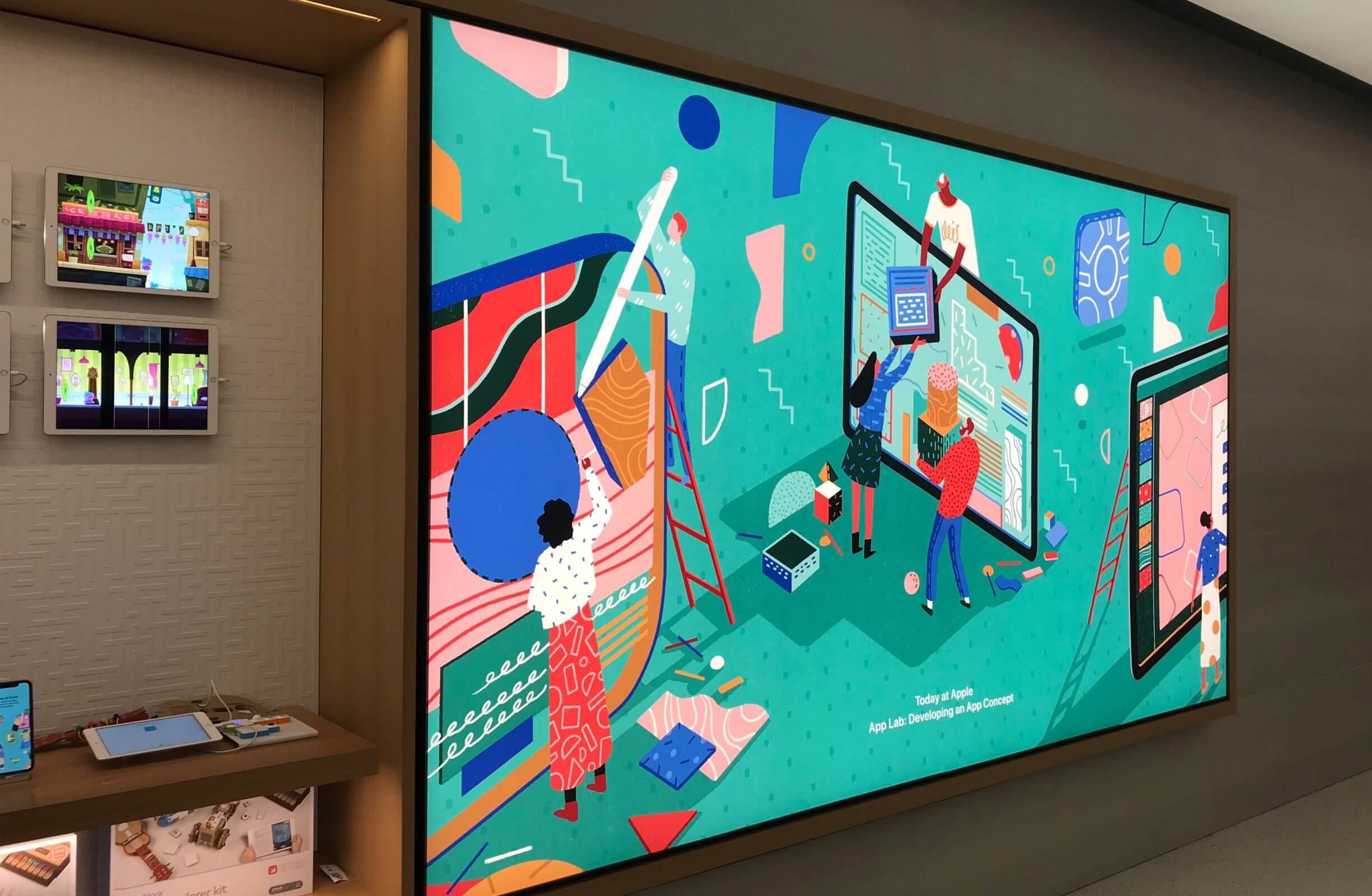 иллюстрация Yukai Du в магазине Apple
