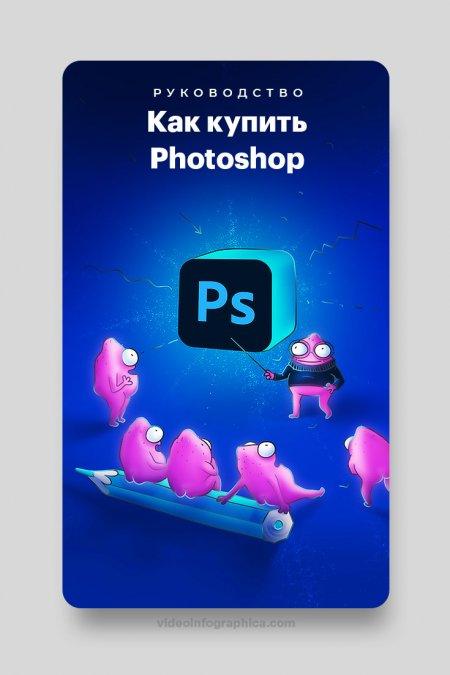 Как купить Adobe Photoshop лицензию в 2021, и зачем он нужен