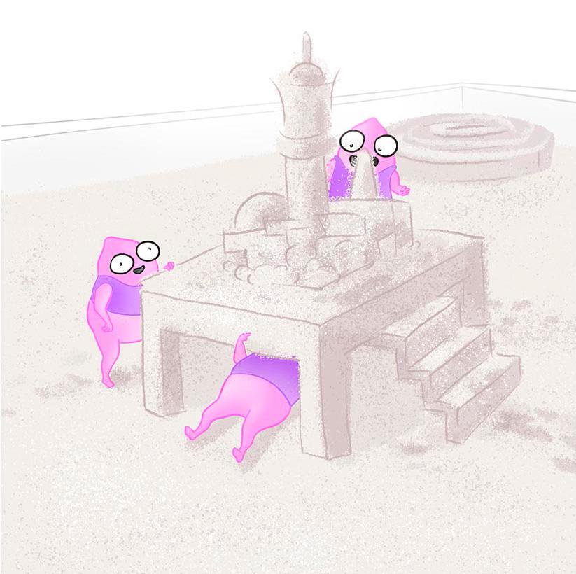 Карикатурное изображение разработчиков desktope приложений