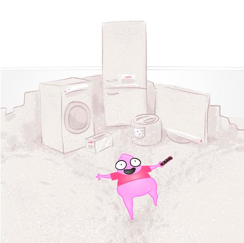 Карикатурное изображение Embed разработчика